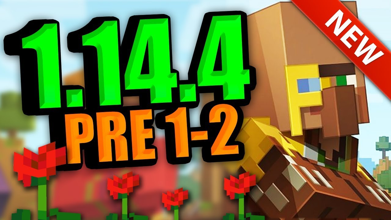 Minecraft 1 14 4 Pre-Release 3 (Villager Improvements, New