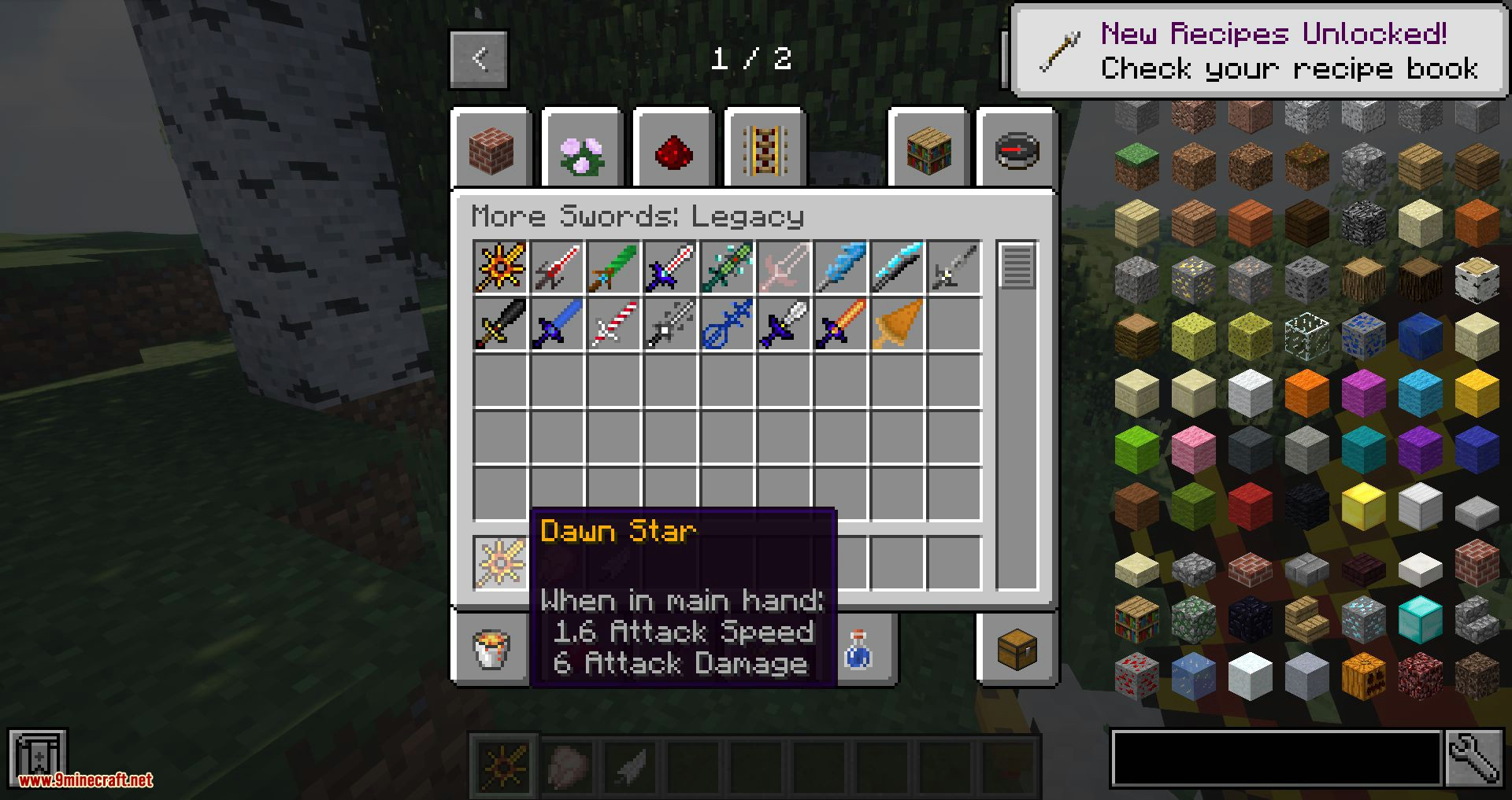 More Swords Legacy mod for minecraft 03