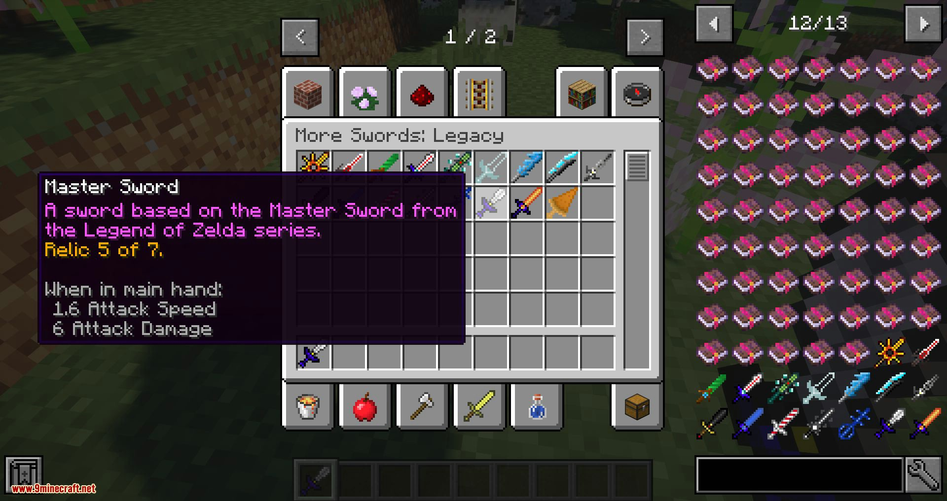 More Swords Legacy mod for minecraft 12