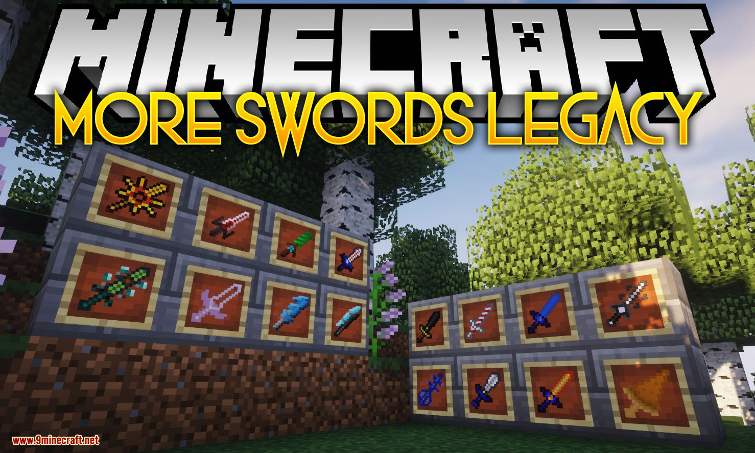 More Swords Legacy mod for minecraft logo