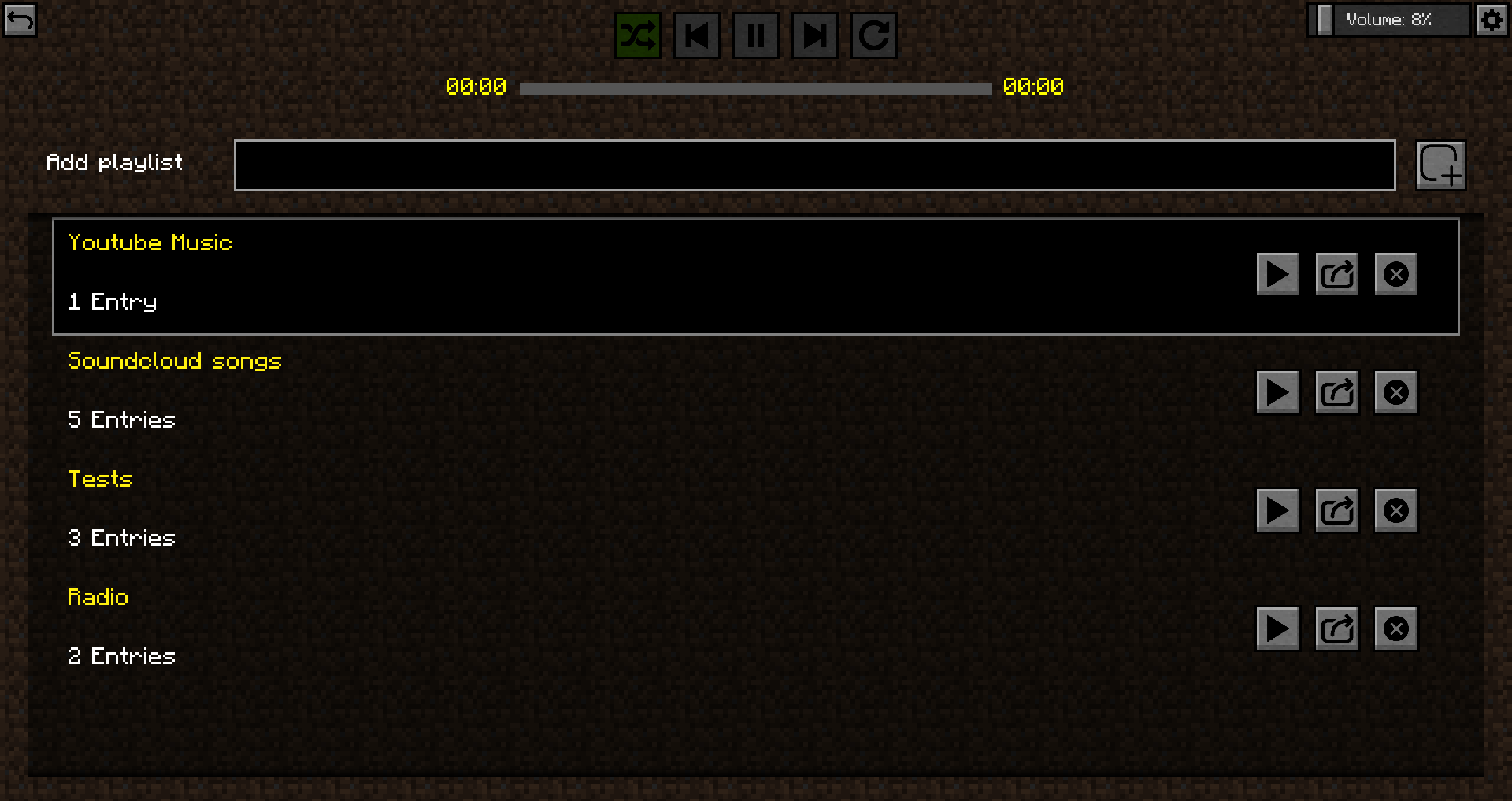 Music Player mod for minecraft 21