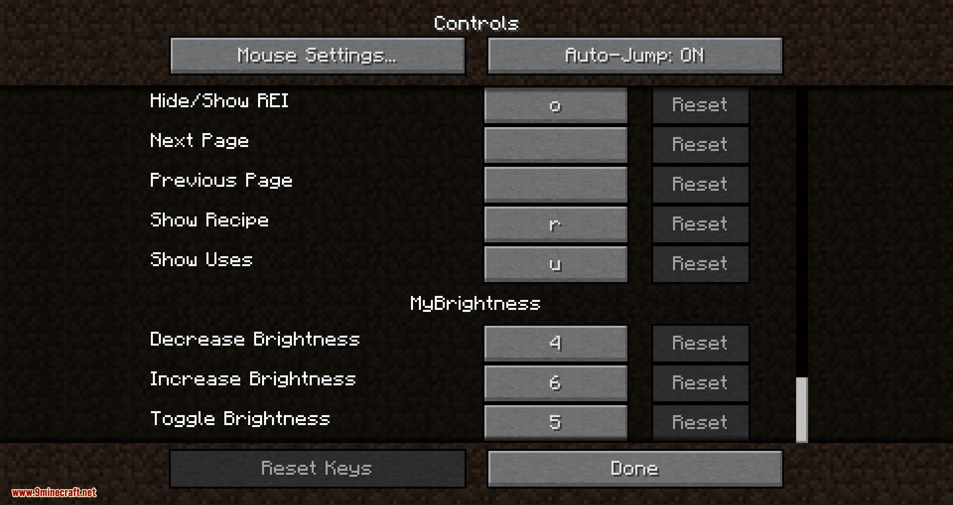 My Brightness mod for minecraft 02