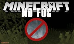 No Fog mod for minecraft logo