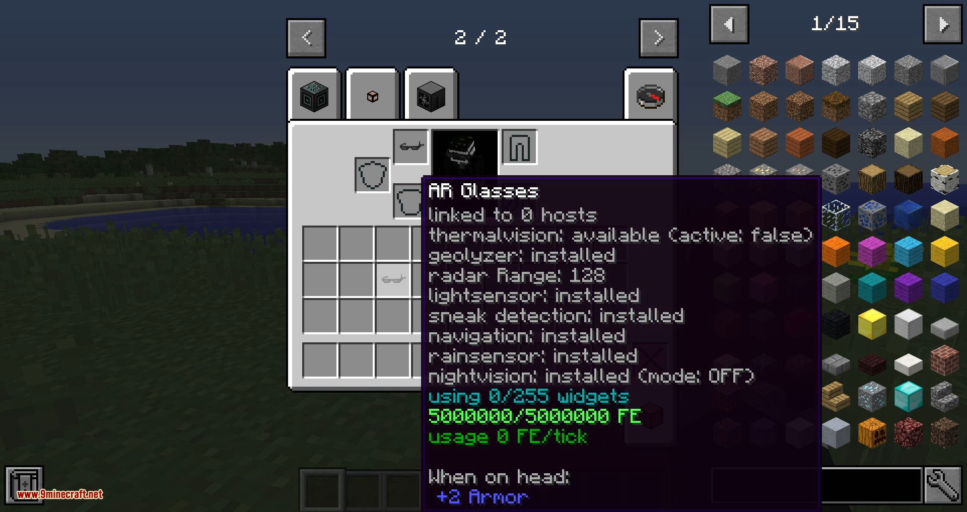 OpenGlasses 2 mod for minecraft 02