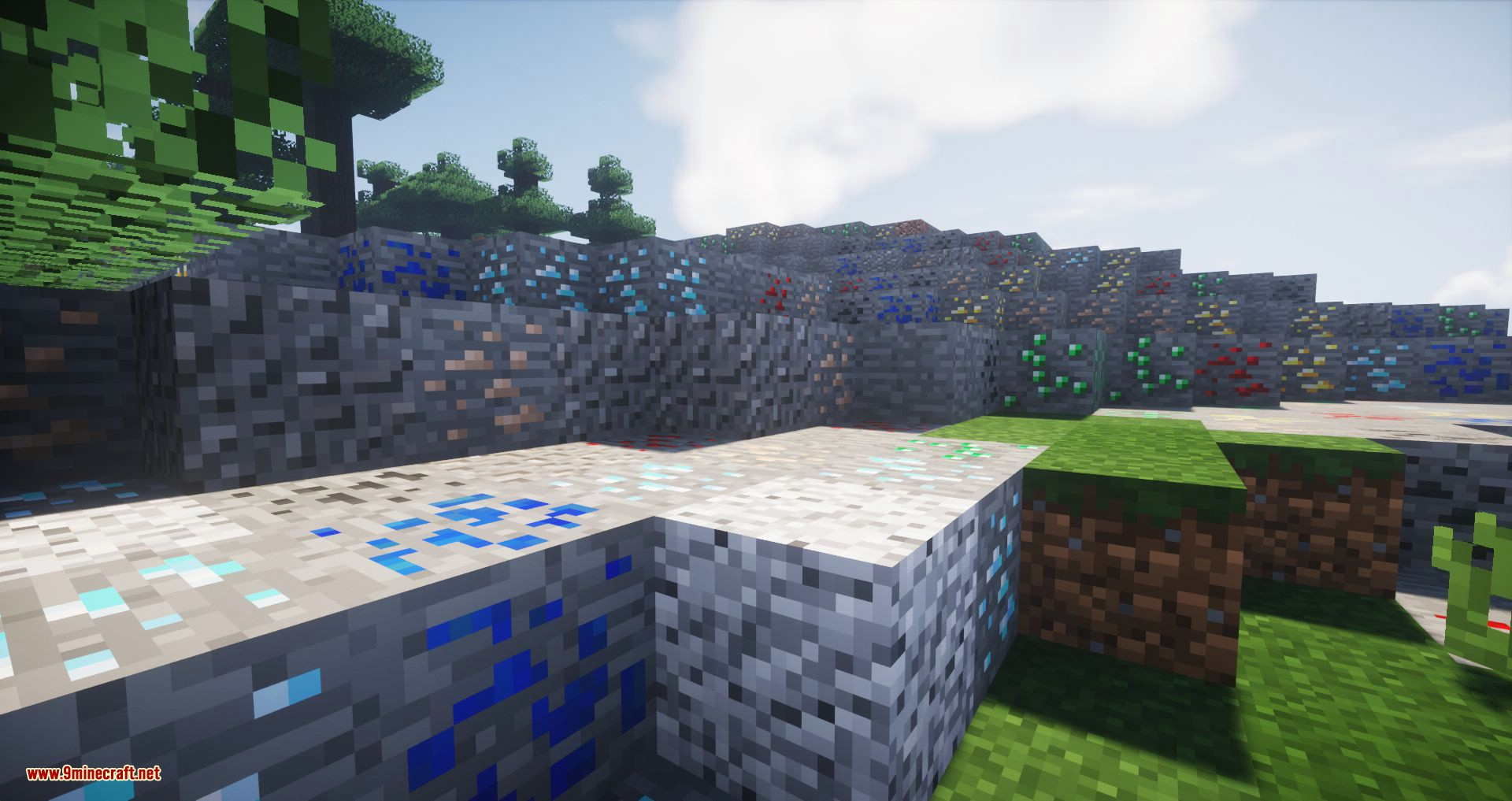 Ore Biome mod for minecraft 03