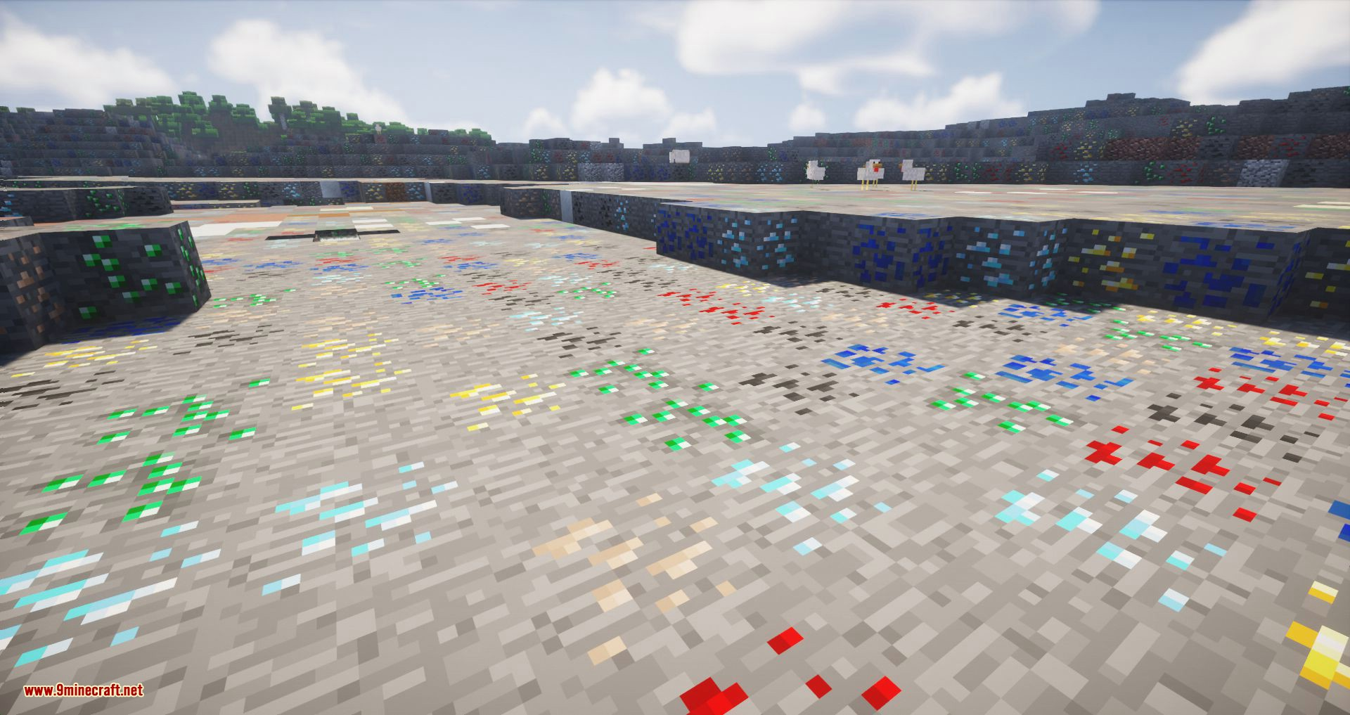 Ore Biome mod for minecraft 05