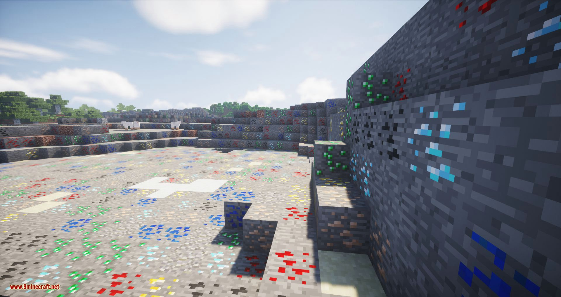 Ore Biome mod for minecraft 06