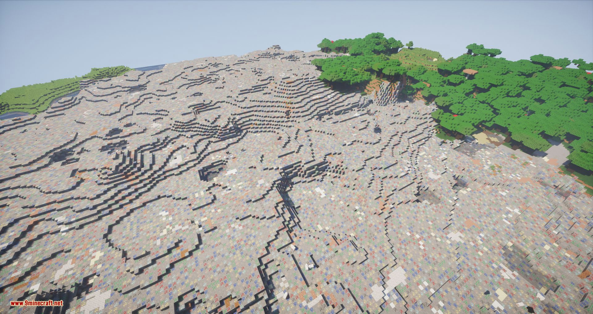 Ore Biome mod for minecraft 07