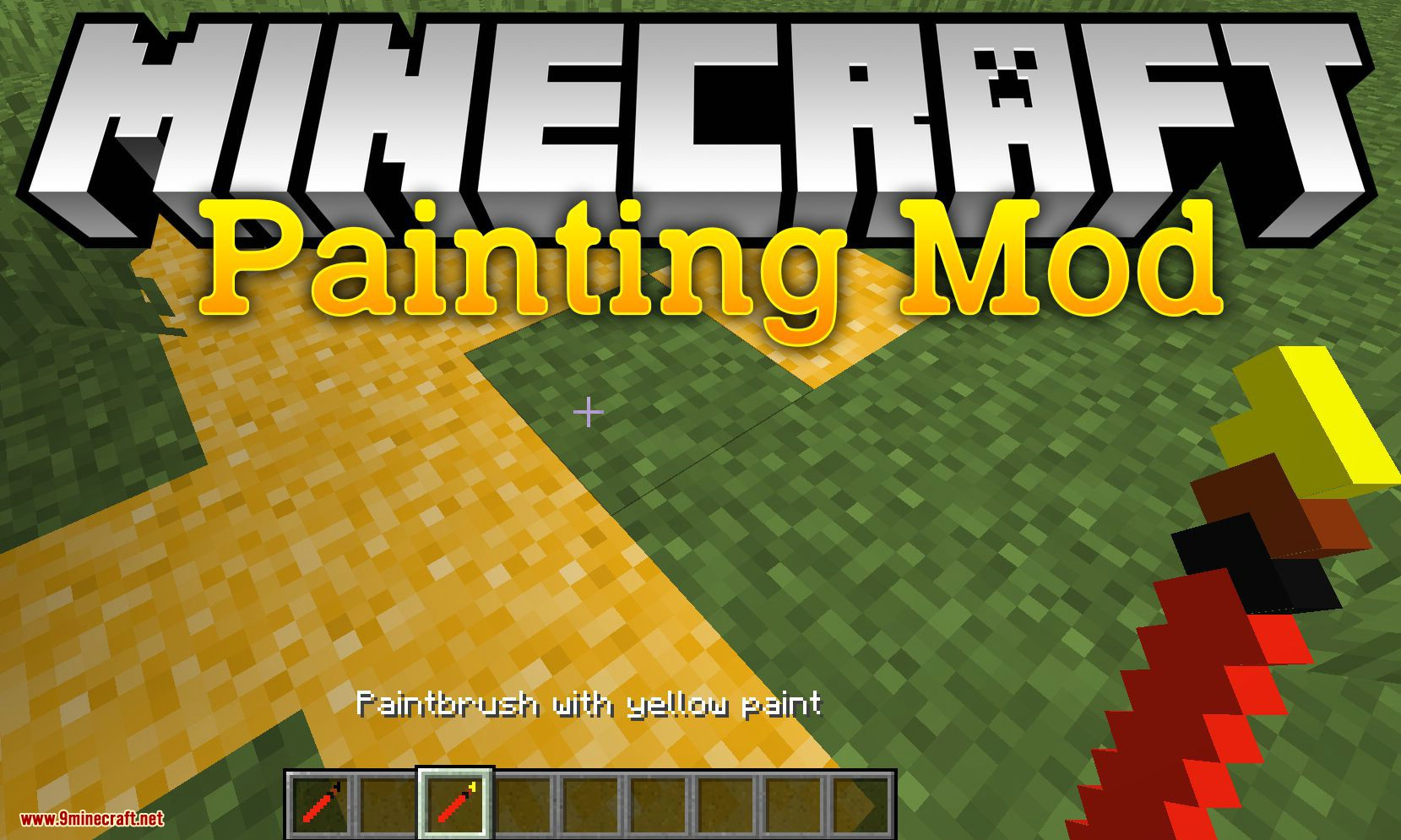 Painting Mod for minecraft logo