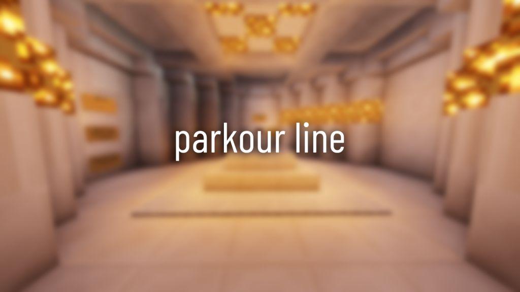 Parkour Line Map Thumbnail