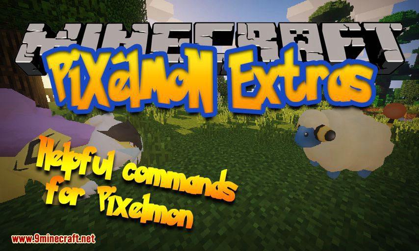 Pixelmon Extras mod for Minecraft logo