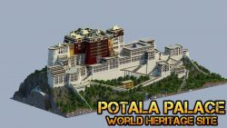 Potala Palace Map Thumbnail