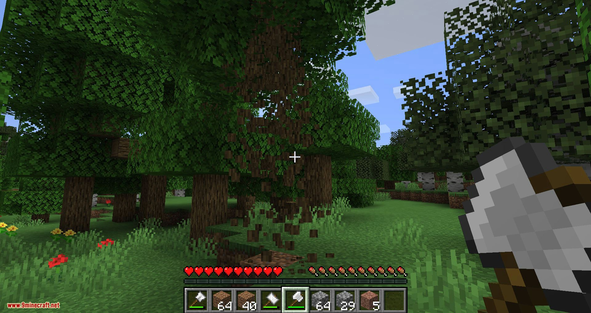 Practical Tools mod for minecraft 08