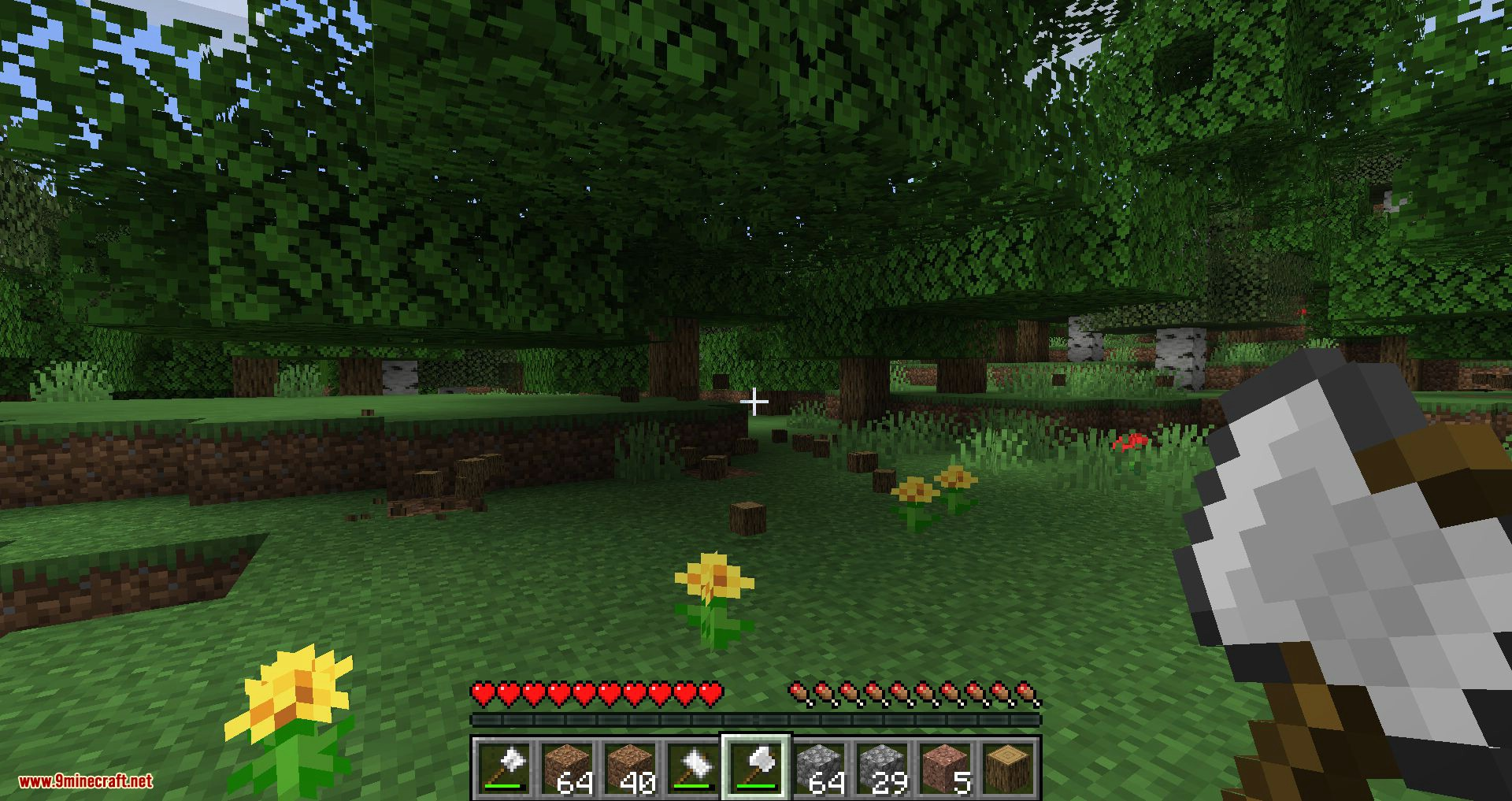Practical Tools mod for minecraft 10