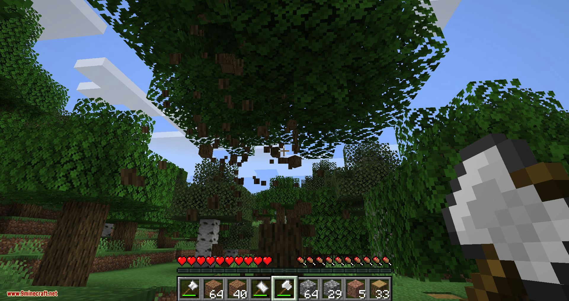 Practical Tools mod for minecraft 12