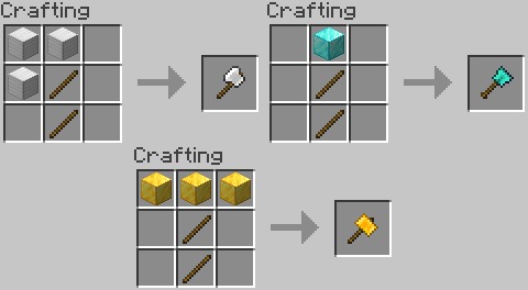 Practical Tools mod for minecraft 21