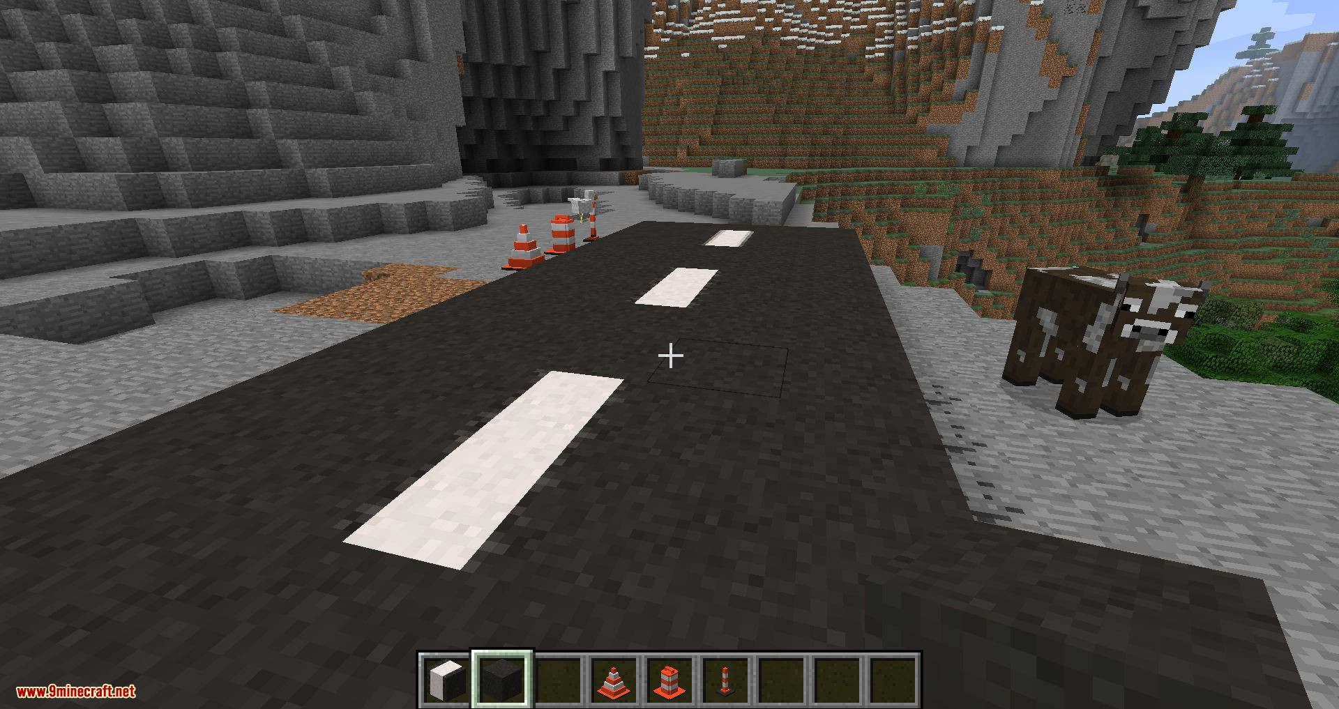 Road Stuffs 2 mod for minecraft 01