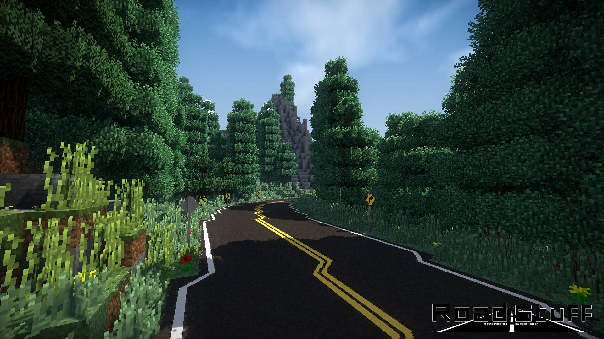 Road Stuffs 2 mod for minecraft 22