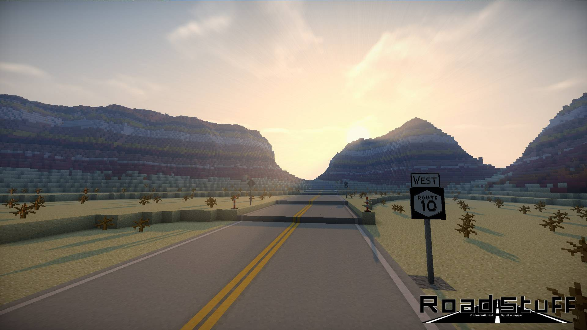 Road Stuffs 2 mod for minecraft 23