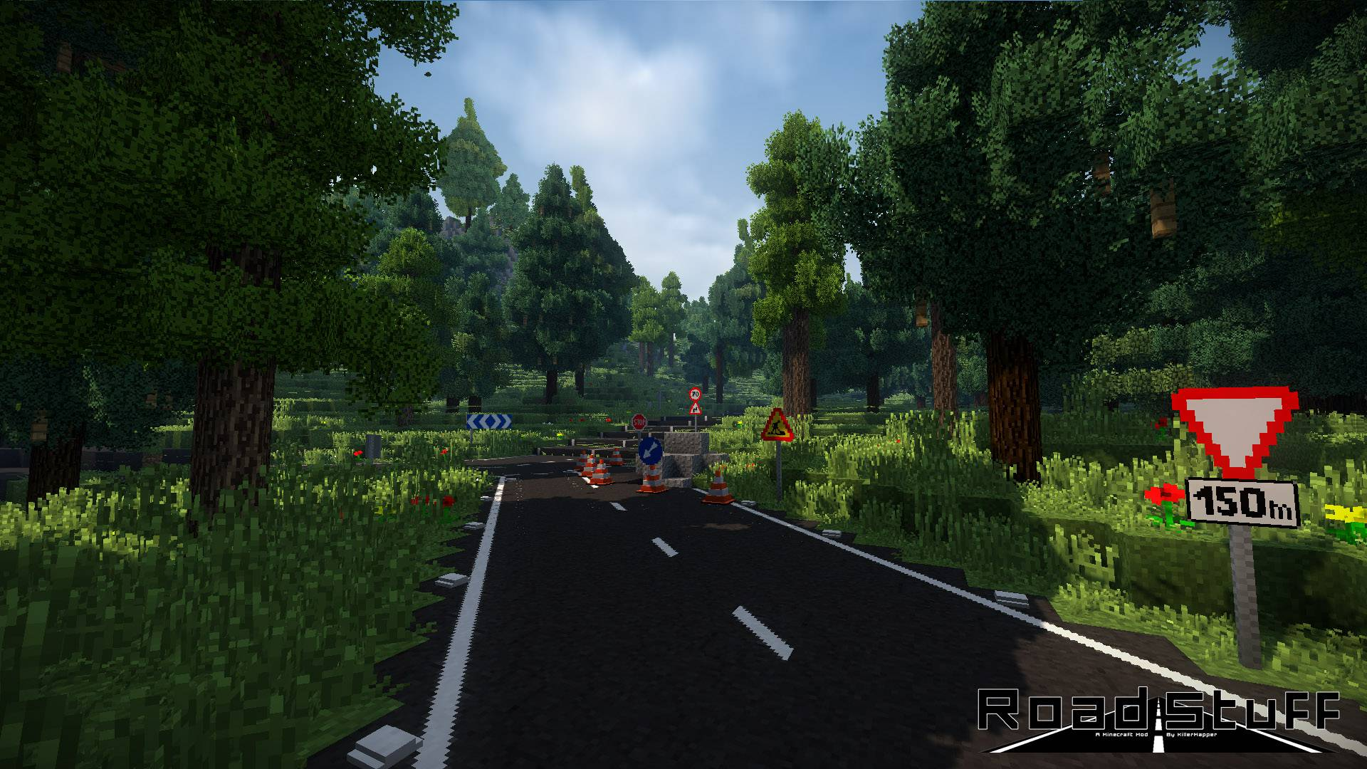 Road Stuffs 2 mod for minecraft 24