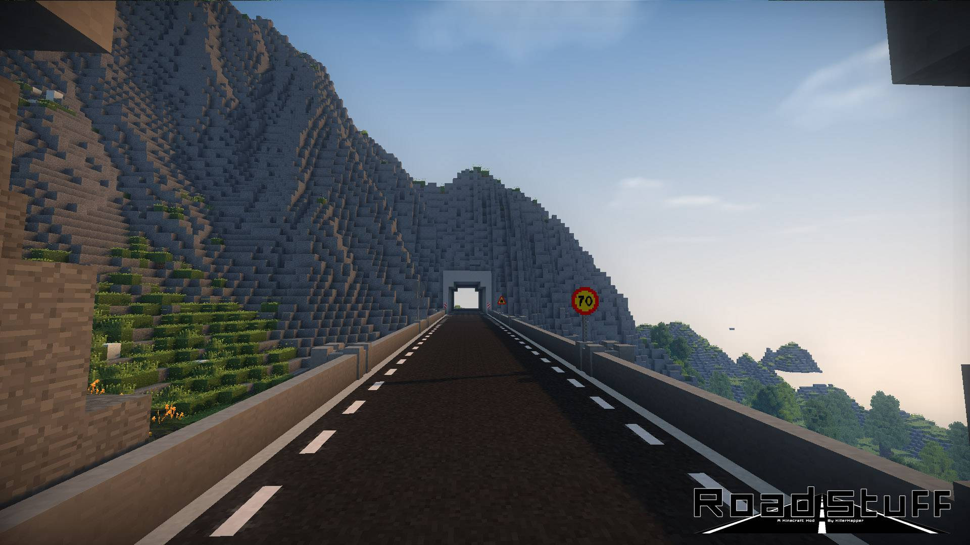 Road Stuffs 2 mod for minecraft 25