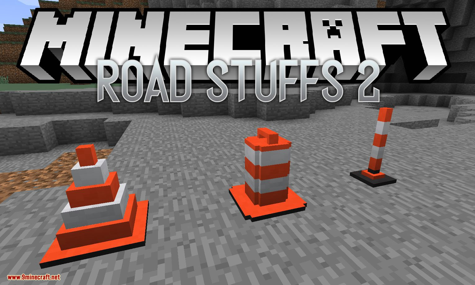 Road Stuffs 2 mod for minecraft logo