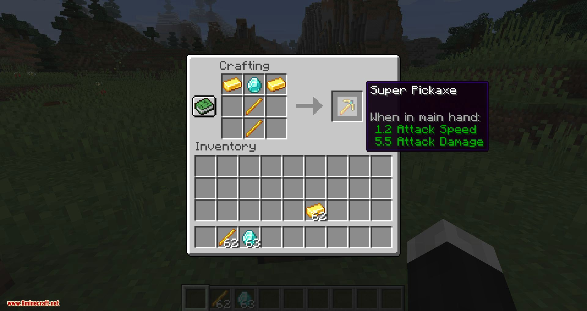 Super Tools mod for minecraft 09