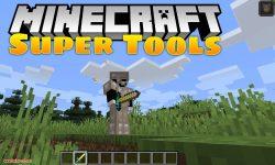 Super Tools mod for minecraft logo