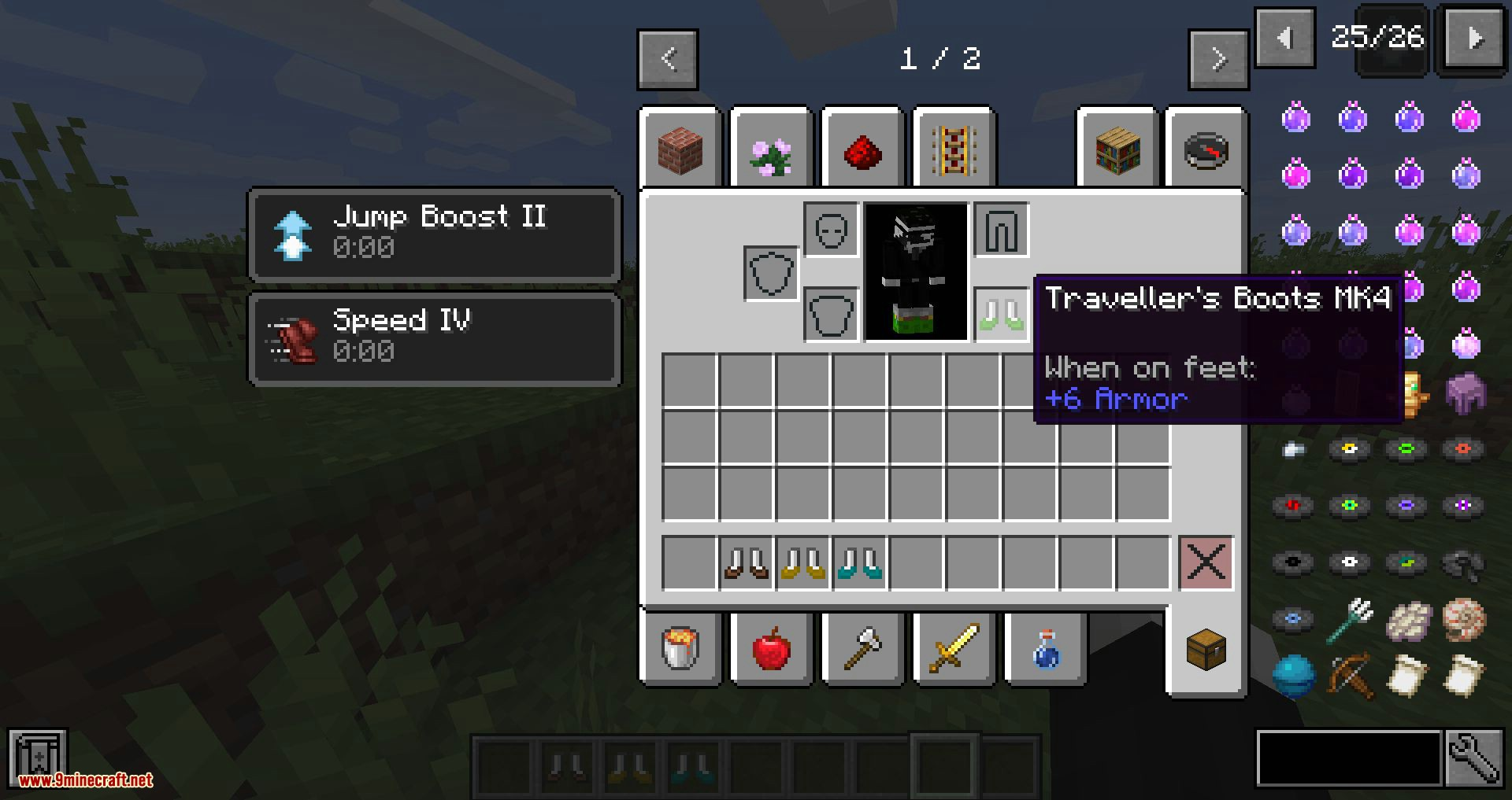 Traveller_s Boots mod for minecraft 07