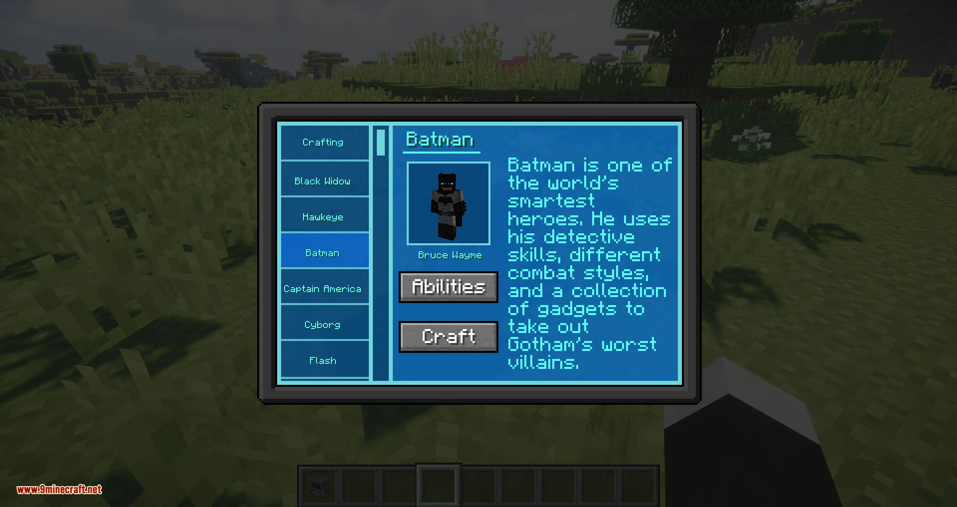 Typical Heroes mod for minecraft 03