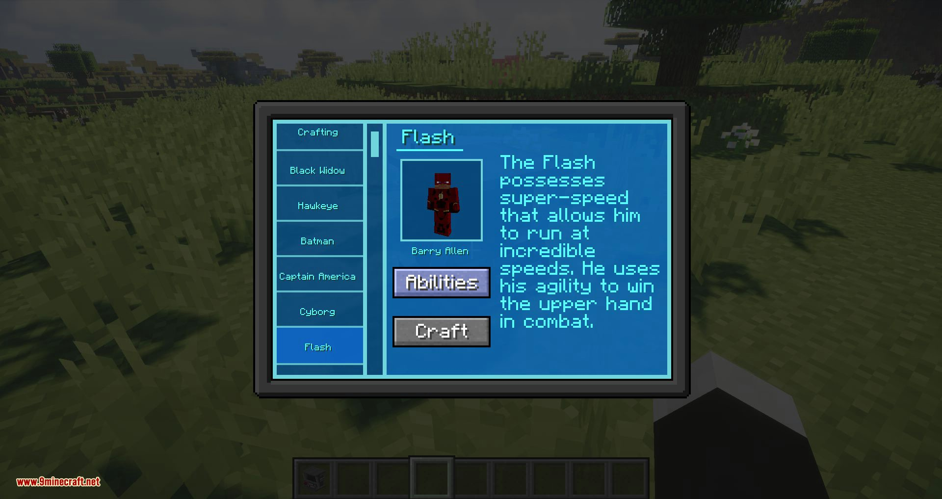 Typical Heroes mod for minecraft 04
