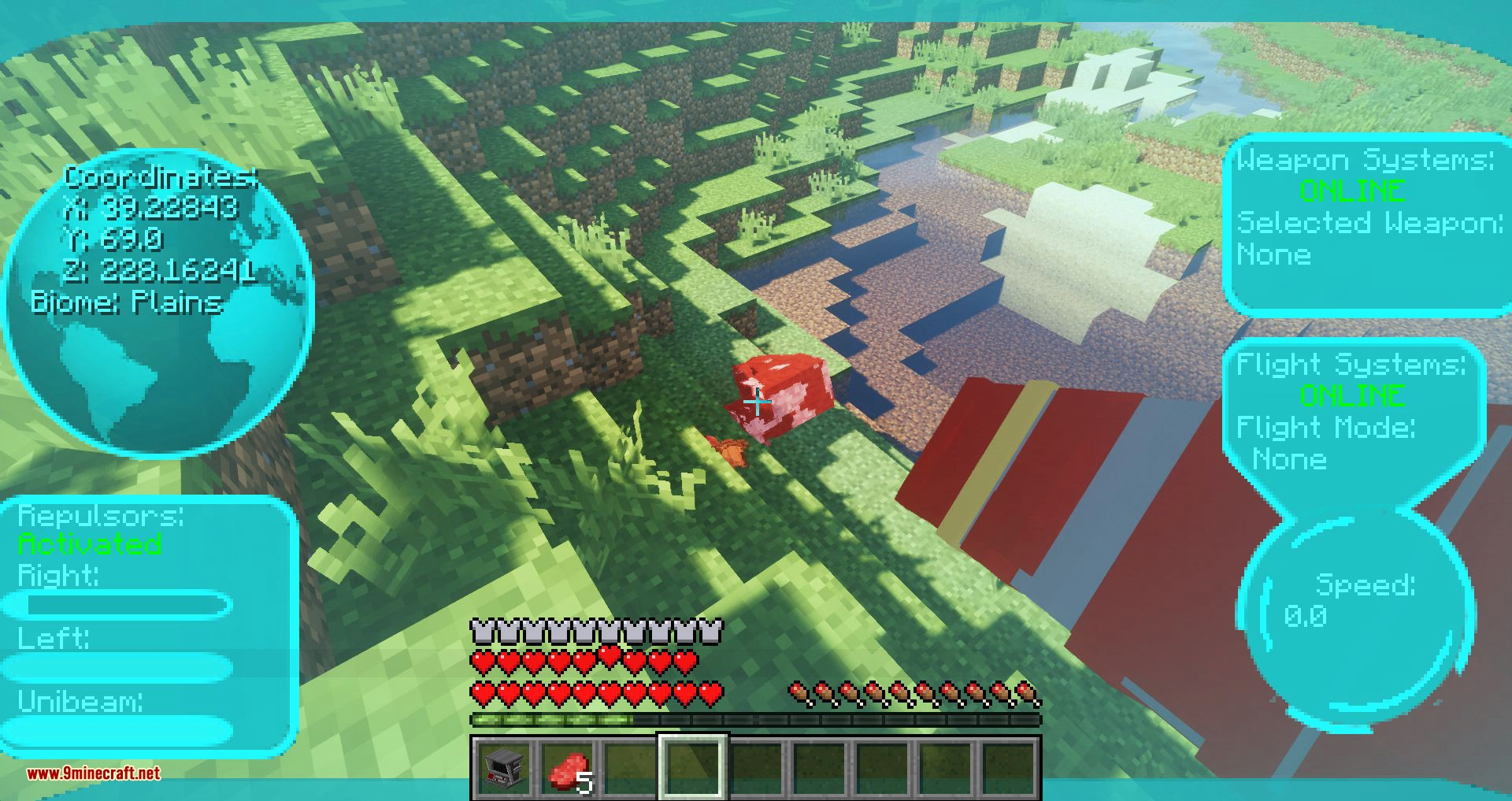 Typical Heroes mod for minecraft 07