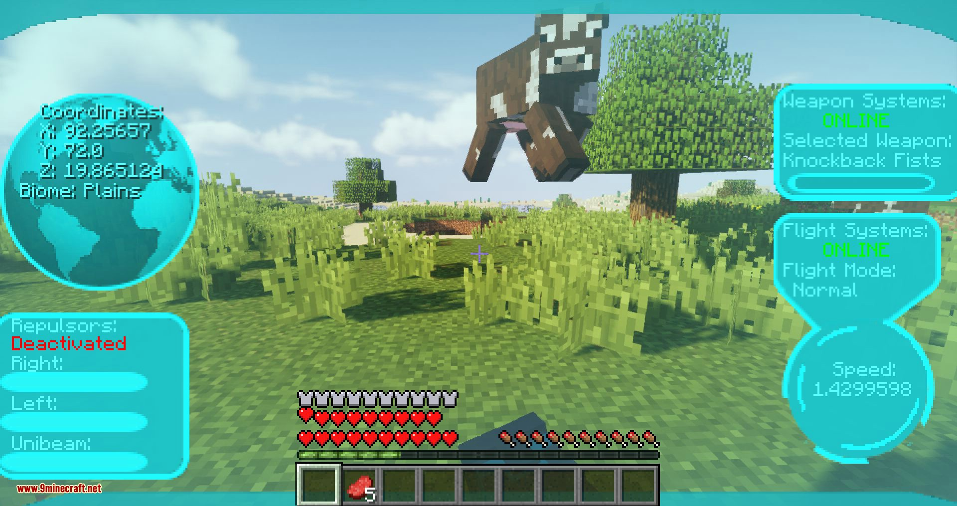 Typical Heroes mod for minecraft 12