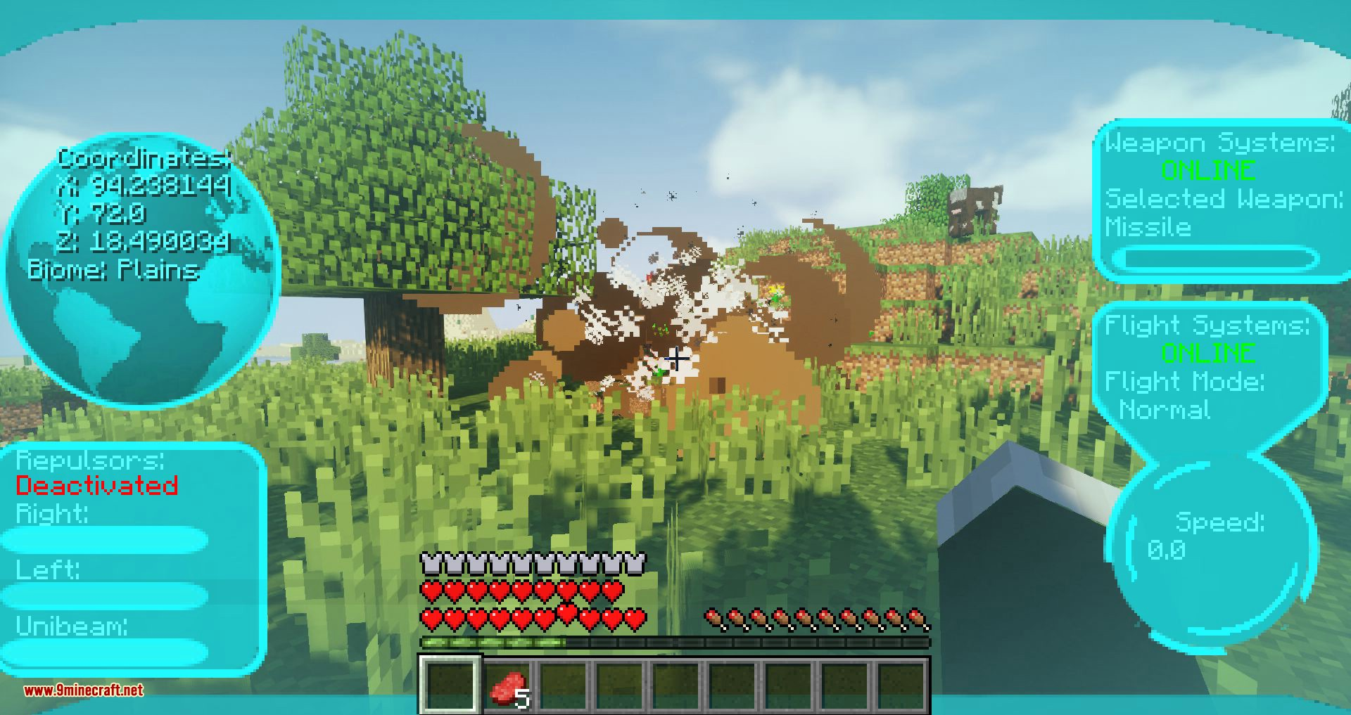 Typical Heroes mod for minecraft 13