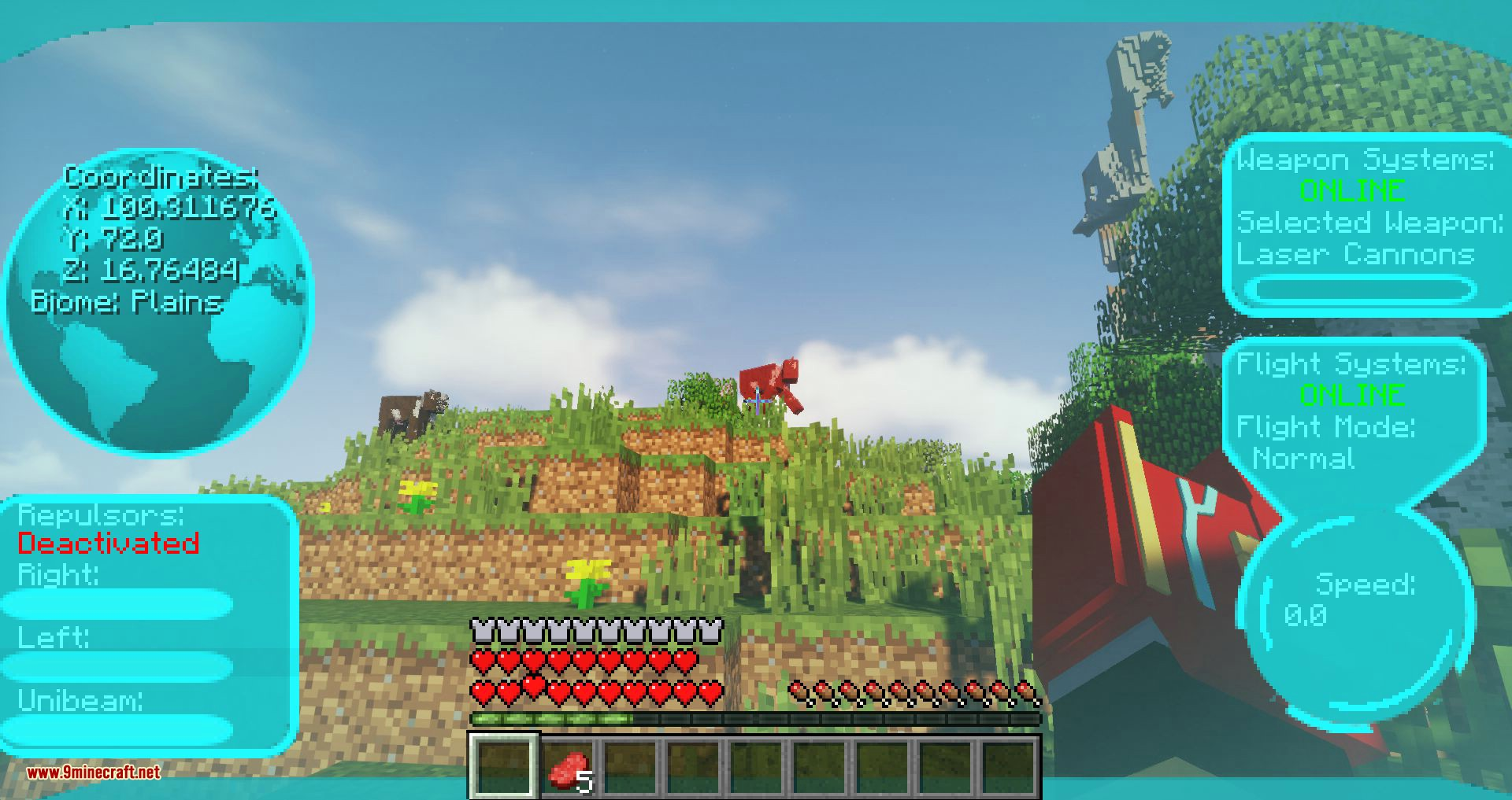Typical Heroes mod for minecraft 14