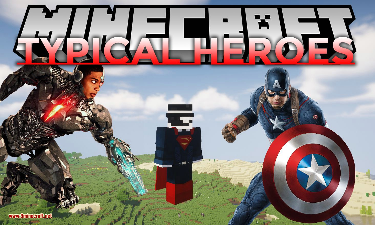 TypicalHeroes mod for minecraft logo