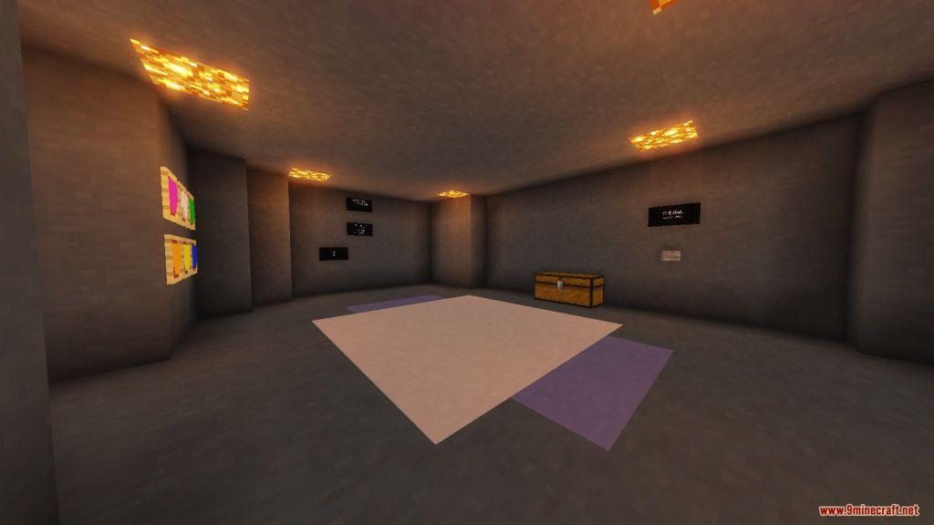Undertale Asriel Fight (Hopes and Dreams) Map Screenshots (1)