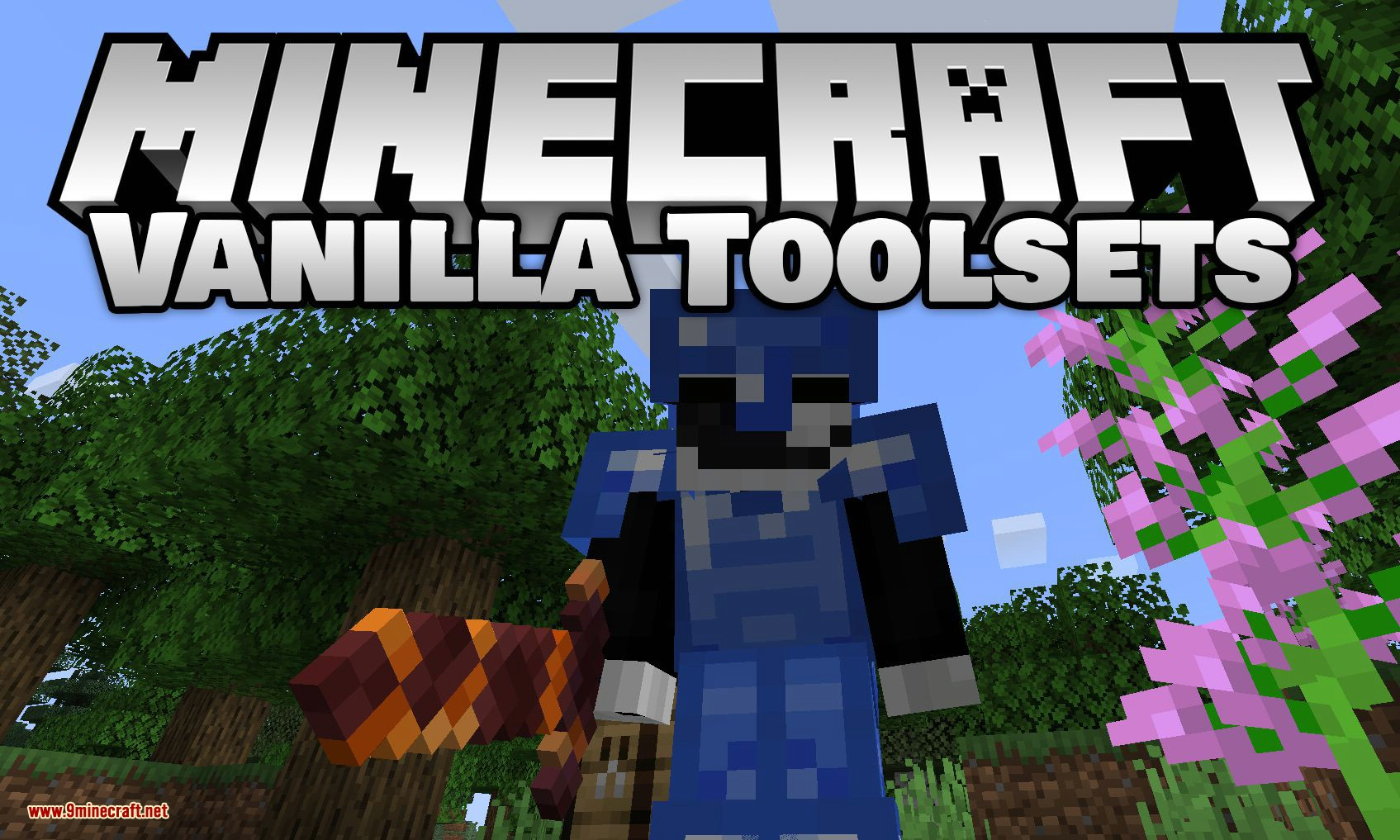 Vanilla Toolsets Mod 100.1006.100/100.1005.100 (New Armor & Tools for Fabric