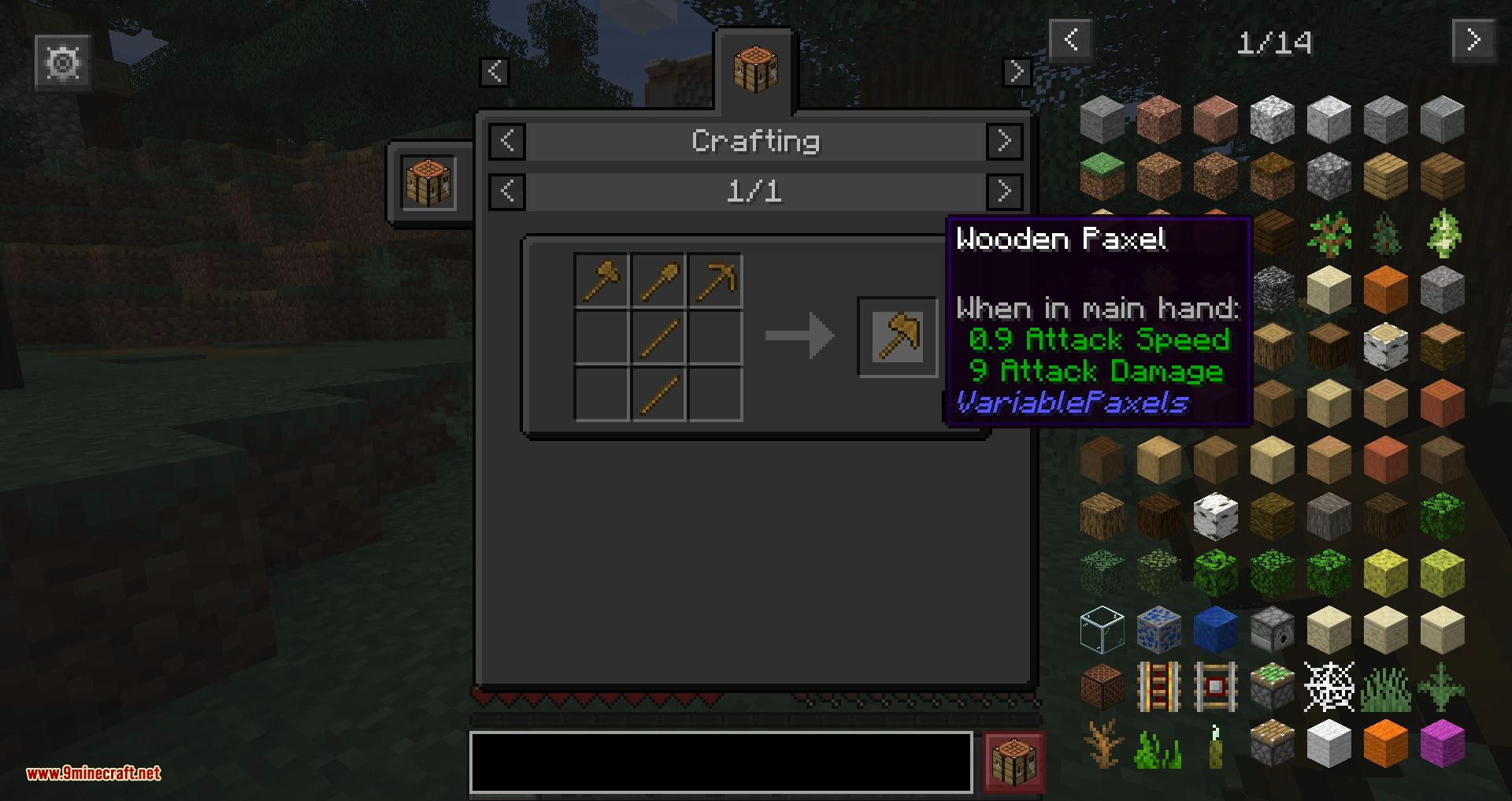 Variable Paxels mod for minecraft 06