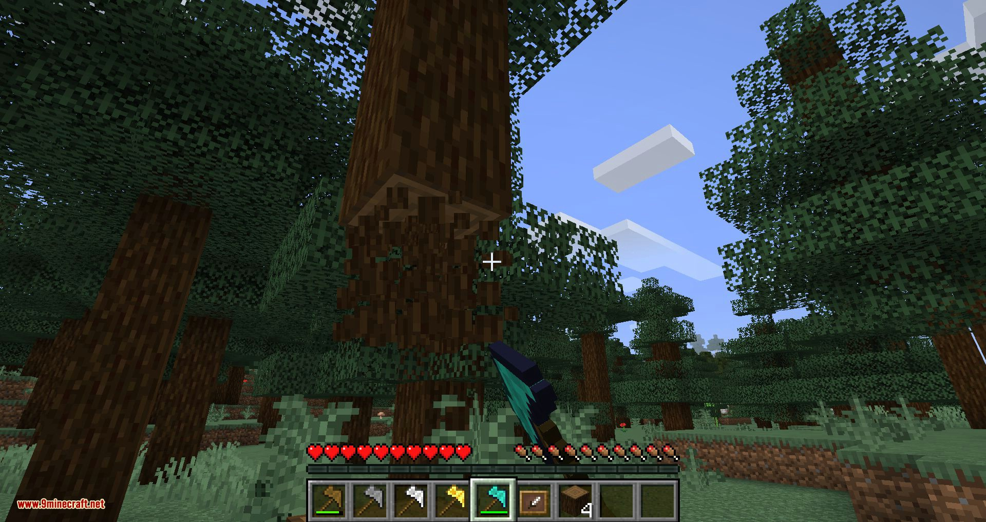 Variable Paxels mod for minecraft 09