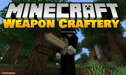 Weapon Craftery mod for minecraft logo