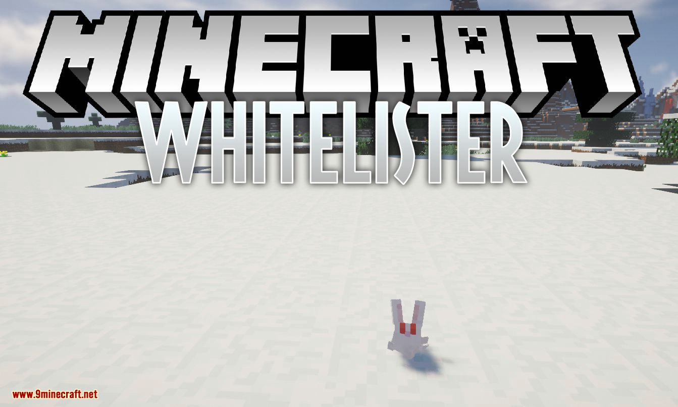 Whitelister mod for minecraft logo