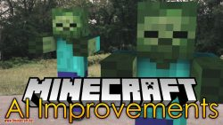 AI Improvements mod for minecraft logo