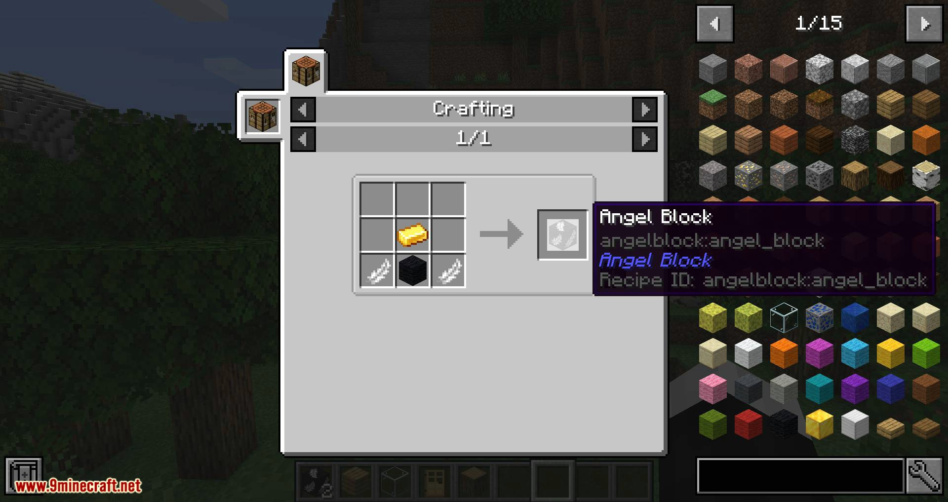 Angel Block Mod 1 15 1 14 4 A Block Can Be Placed In Mid Air 9minecraft Net