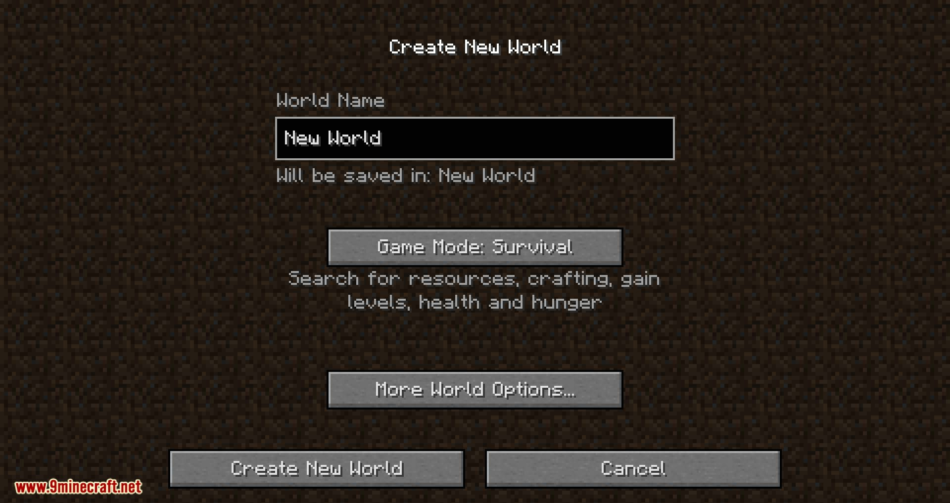 Climatic World Type mod for minecraft 02