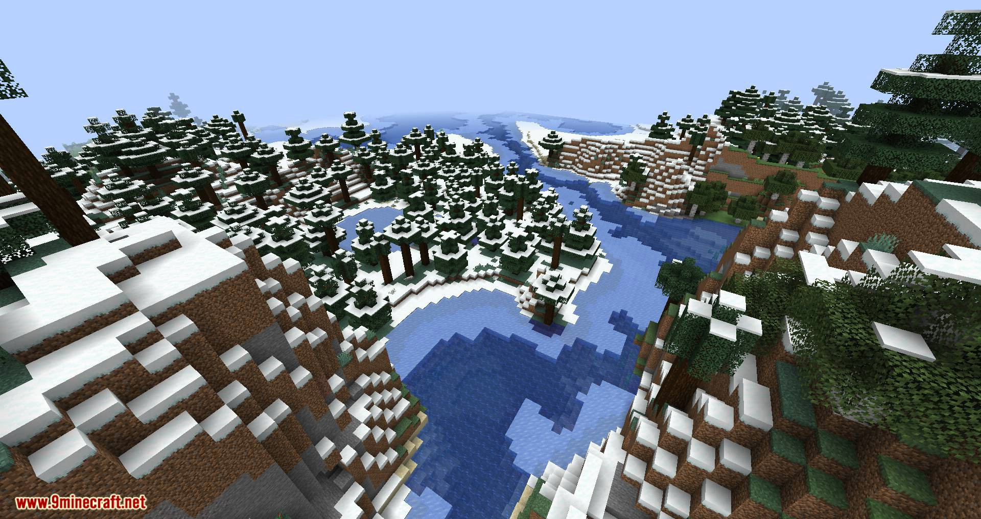 Climatic World Type mod for minecraft 06