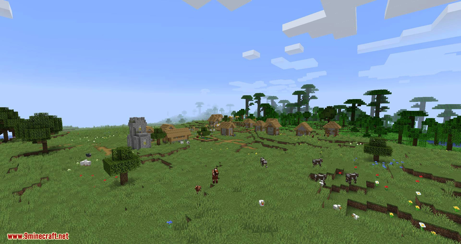 Climatic World Type mod for minecraft 10