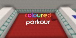 Coloured Parkour Map Thumbnail