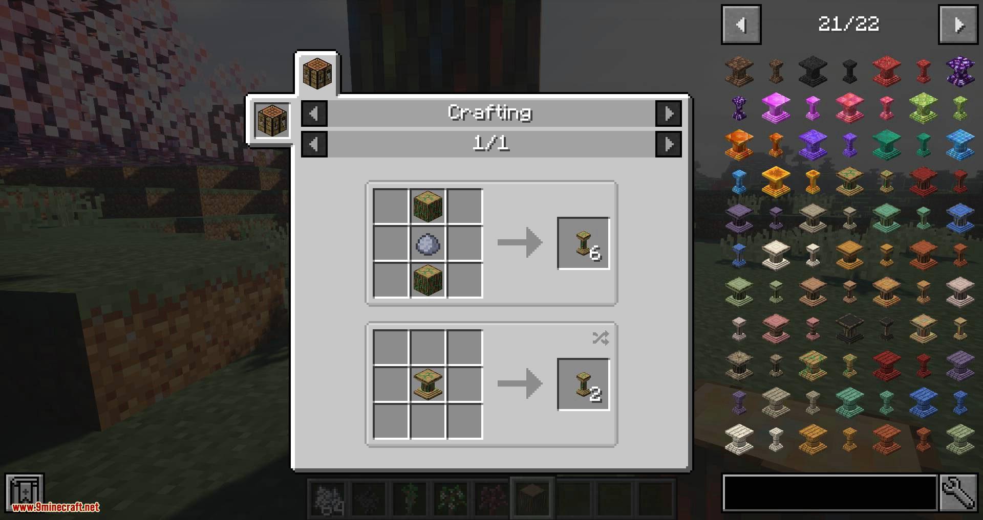 Corail Pillar – Extension Biomes O_Plenty mod for minecraft 10
