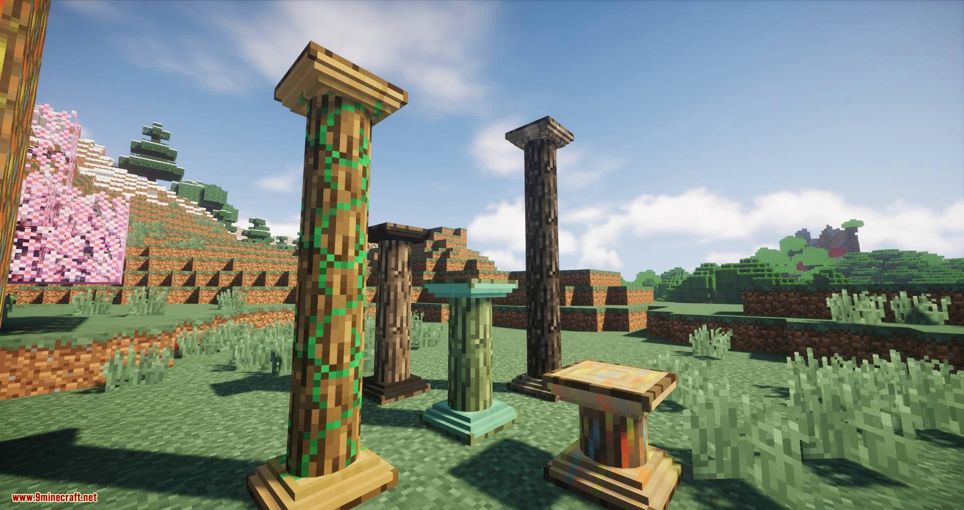 Corail Pillar – Extension Biomes O_Plenty mod for minecraft 12